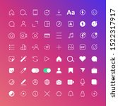 simple set of vector icons....