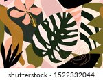 abstract modern tropical... | Shutterstock .eps vector #1522332044