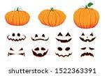 Halloween Collection Of Pumpki...