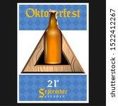 oktoberfest poster with text... | Shutterstock .eps vector #1522412267