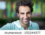 handsome spanish  italian man | Shutterstock . vector #152244377