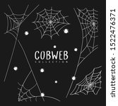 cobweb collection for... | Shutterstock .eps vector #1522476371