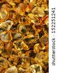 closeup tumbled citrine... | Shutterstock . vector #152251241
