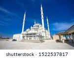 The Kocatepe Mosque (Turkish : Kocatepe Camii) is the largest mosque in Ankara, the capital of Turkey. It was built between 1967 and 1987 in the Kocatepe quarter in Kızılay
