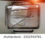 set of metal dentist 's medical ...   Shutterstock . vector #1522543781