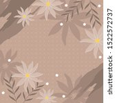 brown scarf pattern with... | Shutterstock .eps vector #1522572737