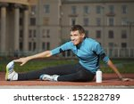 athlete in training | Shutterstock . vector #152282789