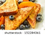 French Toast With Blueberries...
