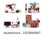 flea market sale drawing set  ...   Shutterstock .eps vector #1522843967