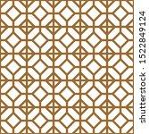 seamless geometric pattern.... | Shutterstock .eps vector #1522849124