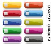 colorful square button... | Shutterstock .eps vector #152289164