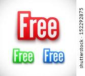 100% free,3d,advertising,badge,bargain,bonus,business,button,color,coupon,design,element,emblem,for free,free