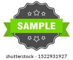 sample isolated seal. sample...   Shutterstock .eps vector #1522931927
