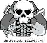 emblem for the club off road... | Shutterstock .eps vector #1522937774