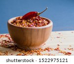 Dried Chili Pepper Flakes In...