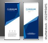 business roll up. banner stand...   Shutterstock .eps vector #1522993691
