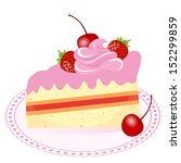 cake | Shutterstock .eps vector #152299859