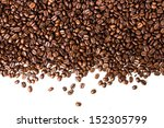 coffee beans  background or... | Shutterstock . vector #152305799