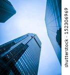 modern business center in... | Shutterstock . vector #152306969