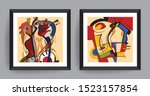 music abstract art. abstract... | Shutterstock .eps vector #1523157854