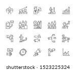 set of advance related vector...   Shutterstock .eps vector #1523225324