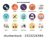 construction icons set for... | Shutterstock .eps vector #1523226584