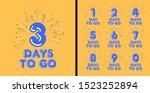 number days left countdown... | Shutterstock .eps vector #1523252894
