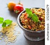 bulgur salad | Shutterstock . vector #152326679