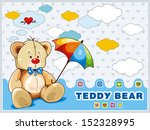 Sitting Teddy Bear Toy With...