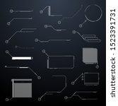 futuristic abstract user...