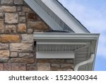 Gable With Colored Stone Siding ...