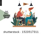 coffee shop  small business... | Shutterstock .eps vector #1523517311