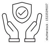 general insurance vector  non... | Shutterstock .eps vector #1523539037