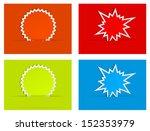burst star paper abstract... | Shutterstock .eps vector #152353979