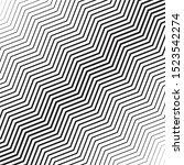 abstract zigzag pattern. vector ... | Shutterstock .eps vector #1523542274