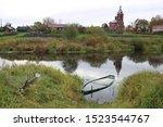 Dunilovo Village Landscape Wit...