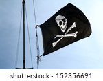 Flag Of A Pirate Skull And...