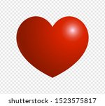 heart icon isolated on... | Shutterstock .eps vector #1523575817