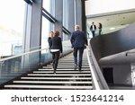 Modern Business People Walking...