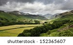 eskdale valley in the english...   Shutterstock . vector #152365607