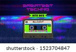 greatest techno hits. music mix....   Shutterstock .eps vector #1523704847