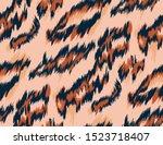 leopard pattern. textile... | Shutterstock .eps vector #1523718407