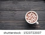 Cocoa Chocolate Cup With Hot...