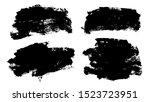 brush strokes. vector... | Shutterstock .eps vector #1523723951
