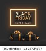 Black Friday Super Sale. Shelf...