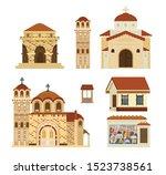 Vector Set Of Byzantinian...