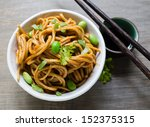 A Spicy Asian Noodle Dish With...