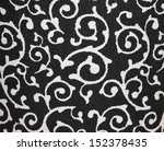 black and white graphic swirls | Shutterstock . vector #152378435