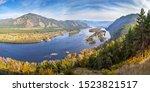 Autumn Landscape. The Yenisei...