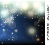 abstract christmas background... | Shutterstock .eps vector #152383034